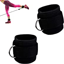 Freshday 2 Pack Ankle Straps, for Gym, Family Fitness, Cable Machines