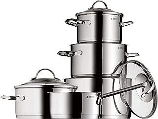 WMF Provence Plus - Batería de Cocina, Acero Inoxidable