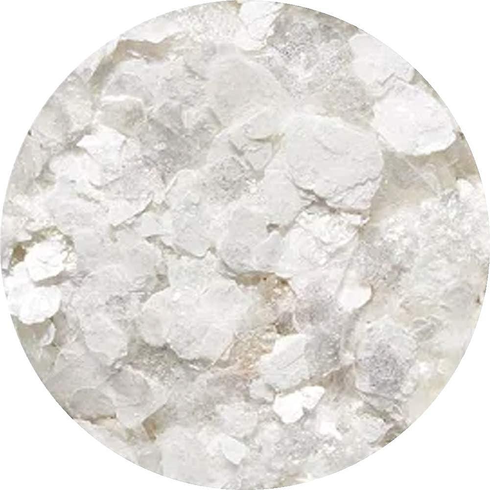 普遍的なライター粘土Charlon クラッシュラメ ホワイト
