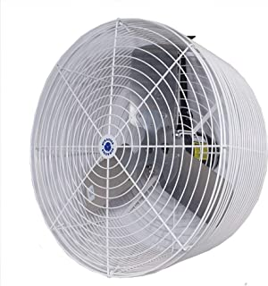 "Schaefer VK24 Versa-Kool 24"" Deep Guard Greenhouse Circulation Fan, Made in USA, Horizontal Airflow, 1/2 HP, 7860CFM, T-sh..."