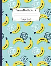 Best Composition Notebook College Ruled: Funny Banana Notebook | Cute College Ruled Journal for school, college, take notes | For teens, students, ... Gift or Birthday Present for Adults and Kids Review