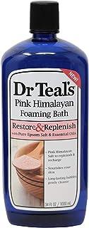 Dr. Teal's Pink Himalayan Bath Foam Restore & Replenish - 1 Liter