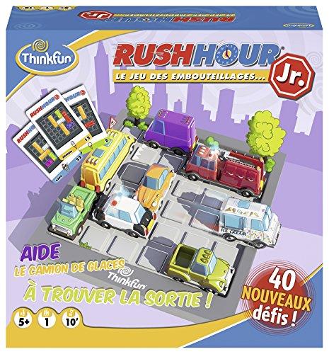 Ravensburger- Rush Hour Junior - Jeu de logique-ThinkFun- A partir de 5 ans-76304