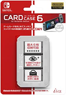 i-Lex Nintendo Official Nintendo Switch Game Card Case6 -Clear-