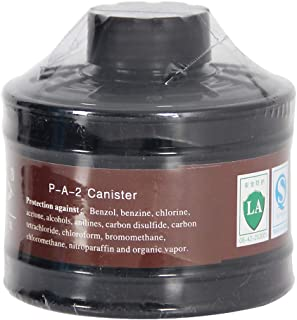 Filter Canister 40mm for Mask Respirator, for Industrial Use, Chemical Handling, Painting and Welding