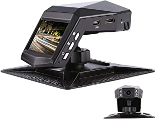 "denicer Car Dash Cam IR Night Vision 1080P Dashboard Camera 170 Wide Angle 2"" Display with Parking Monitor, WDR, G-Sensor, Loop Recording. Single Recording"