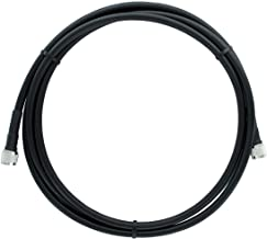 Bolton400 Cable - LMR400 Coaxial Cable 10ft - Heavy Duty Ultra Low Loss Coax Cable 50ohm - N Male to N Male - 10 feet Black - for Home and Commercial Signal Booster Installations