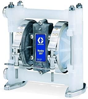 Graco Husky D32911 Polypropylene Double Diaphragm Pump, 3/8