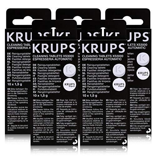 5 KRUPS Reinigungstabletten XS3000