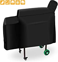 Grisun 3001 DB Grill Cover for Green Mountain Grills Daniel Boone Grill, Choice and Prime Standard Non-WiFi Grill, Heavy Duty and Waterproof Pellet Grill Cover (53.5 x 19.7 x 25 Inches)