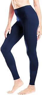 "Yogipace Petite Length Women's 25"" Inseam High Waisted Yoga Leggings Ankle Length Workout Active Pants Crotch Gusset"