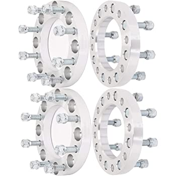 SCITOO 4X 3 Wheel spacers 8x170mm to 8x170mm 14x1.5 Studs Compatible with Ford F-250
