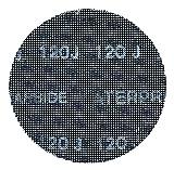 BLACK+DECKER X39262-XJ Multilevigatrice Velcro Roto-Orbitale, 3 Dischi, 240 gr, 125 mm