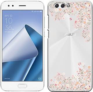 [Breeze-正規品] iPhone ・ スマホケース ポリカーボネイト [透明-Pink] ZenFone 4 ZE554KL ケース エイスース ゼンフォン4 ASUS ZenFone4カバー 液晶保護フィルム付 全機種対応 [ZEN4] [ZEN41810BA]