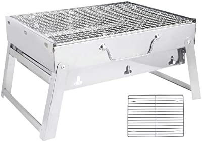 Natruss Barbecue Grill, Portable Charbroiler, Camping for Outdoor