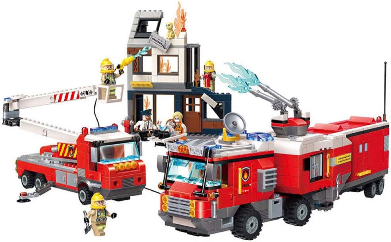 garantizado XDDQF Niño Juguetes Educativos,Rompecabezas De Fuego Seguridad Oficina Oficina Oficina Montaje Bloques De ConstruccióN para Niños Juguete Regalos De Niño  calidad fantástica