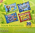 Nabisco Variety Pack Team Favorites Mix - Variety Pack with Cookies & Crackers, 30Count Box, 30 Oz