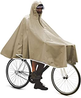 Anyoo Waterproof Rain Poncho Bike Bicycle Rain Capes Lightweight Compact Reusable for Adults