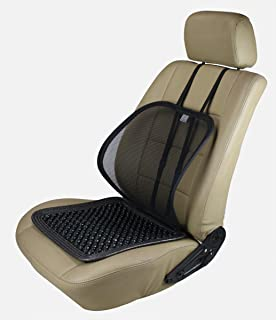 "1pc ObboMed Group PVC /& Chromed Steel Frame ObboMed SM-5200G Adjustable Sit-up Back Rest Orthopedic Neck 22.5/""25.6/""19.7/"" Head Lumbar Support Check Polyester"