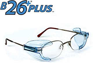B26+ Wing Mate Safety Glasses Side Shields- Fits Small to Medium Eyeglasses (Pack of 20)