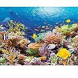 WXAJY Diamante Pintura Taladro Completo Coral Mar Mosaico Diy Diamante Pintura Punto De Cruz Bordado Hogar Artesanía Decorativa-40x50cm