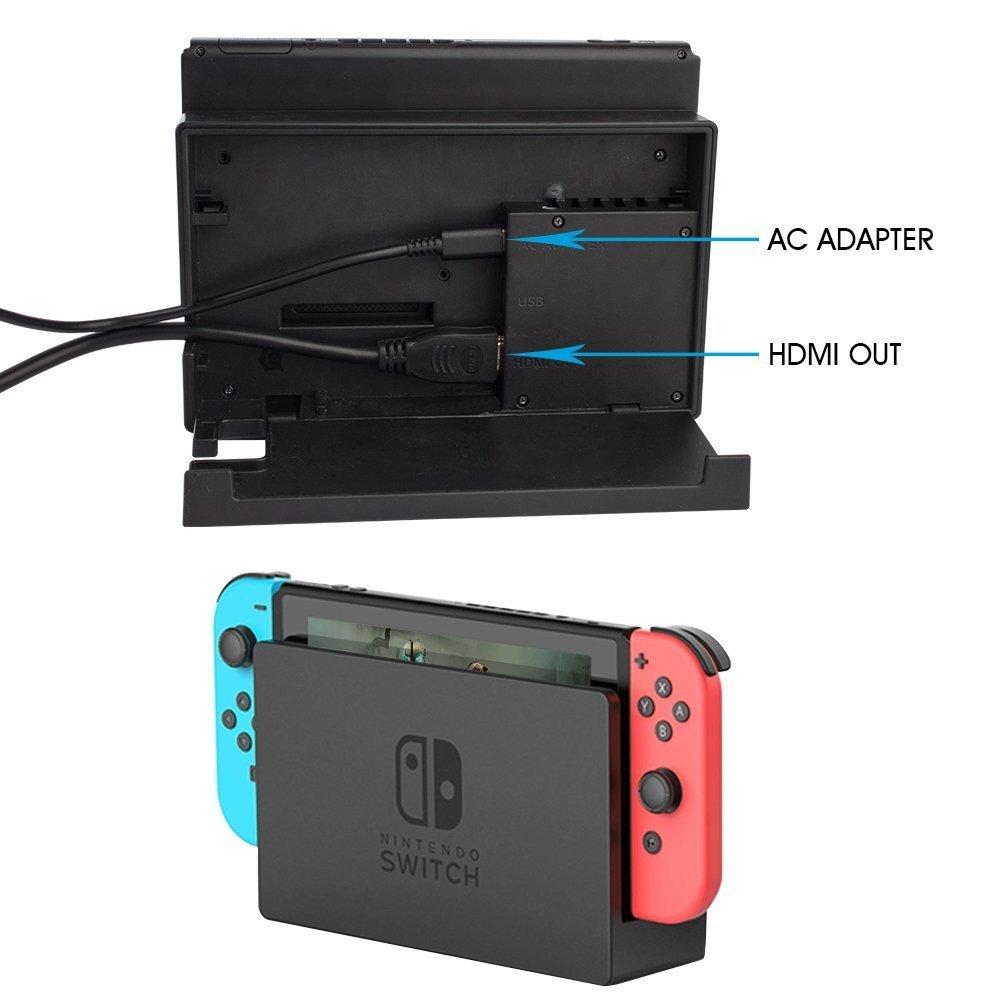 Nintendo Switch AC Adapter - CTPOWER [Versión mejorada] Nintendo ...