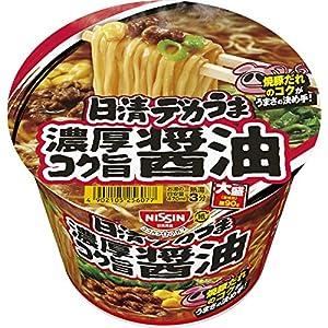 日清食品 デカうま 濃厚コク旨醤油 116g ×12個