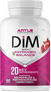 Menopause Relief-WORKS OR 100% MONEY BACK:Hot Flashes,Night Sweats,Mood Swings,Low Energy and More.Dim Supplement,Estrogen Blocker-Diindolylmethane BioPerine,Acne Pills,Black Cohosh,Dong Quai,PCOS