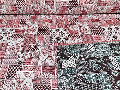 Gobelin Stoff für Sofa, Tischdecken, Kissen, Granfoulard Meterware, Höhe 280 cm (7)