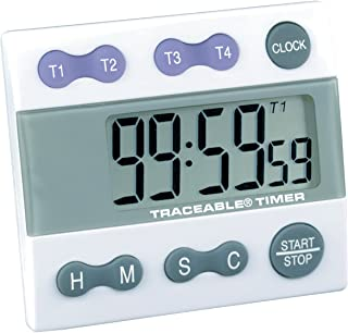 Control Company 5004 Traceable Four Channel Alarm Timer