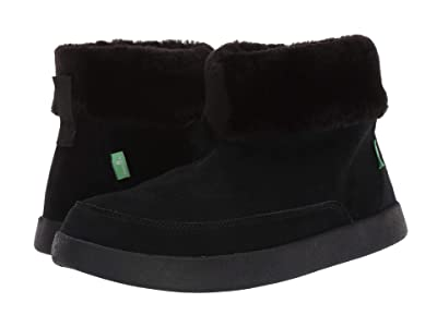 Sanuk New Bootah Suede (Black) Women