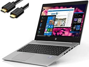 """2019 HP Probook 450 G6 15.6"""" HD Business Laptop (Intel Quad-Core i5-8265U, 8GB DDR4 RAM, 256GB PCIe NVMe M.2 SSD, UHD 620)..."""