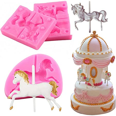 Sea Horse Decorating Tools Cake Sugar Paste Mold Cup Cake Topper Decoupage M38