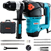 ENEACRO 1-1/4 Inch SDS-Plus 12.5 Amp Heavy Duty Rotary Hammer Drill, Safety Clutch 3..