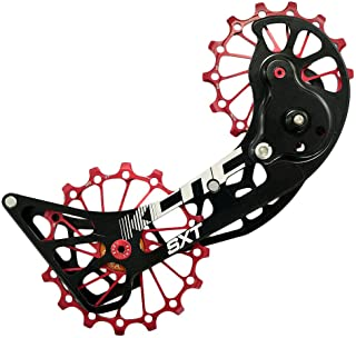 KCNC SXT MTB Cycling Bike Oversized Pulley Cage for Shimano M9000 and M8000, Red, SK1961