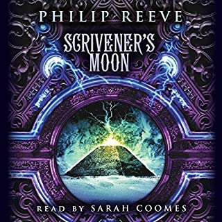 Scrivener's Moon                   Written by:                                                                                                                                 Philip Reeve                               Narrated by:                                                                                                                                 Sarah Coomes                      Length: 11 hrs     3 ratings     Overall 4.3