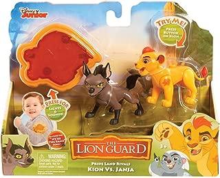 Lion Guard Rival 2 Figures - Kion vs Janja