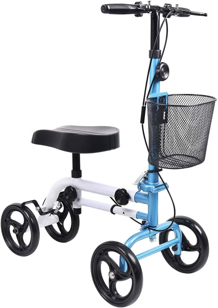 Give Me Knee Scooter All 2021 autumn and winter new Terrain Medical Steerable Deluxe Popular brand Foldab