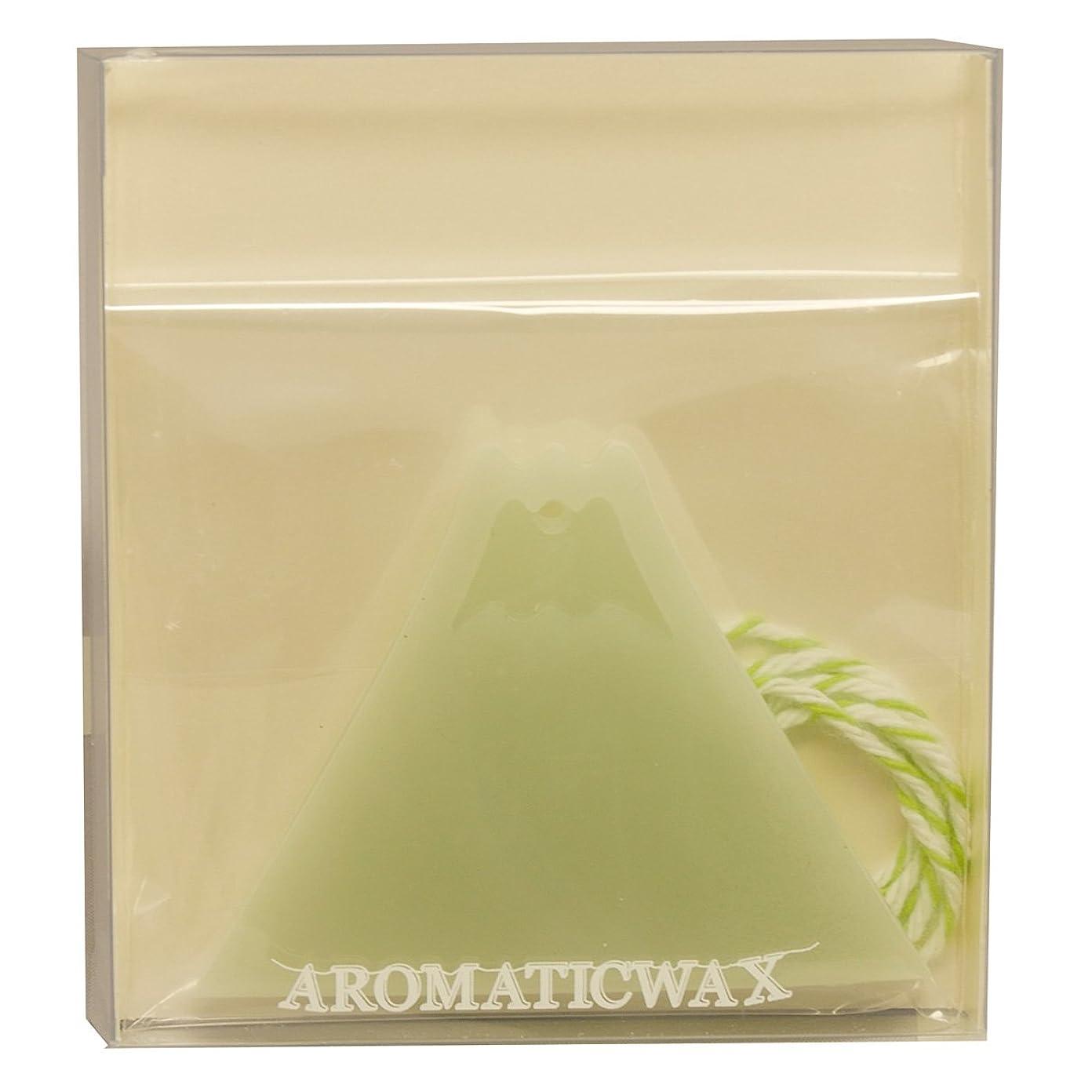 コンベンションキリスト教手入れGRASSE TOKYO AROMATICWAXチャーム「富士山」(GR) レモングラス アロマティックワックス グラーストウキョウ