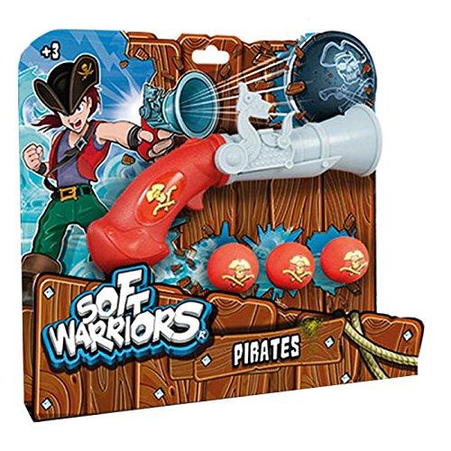 Soft Warriors - Pistola Pirata (Blue Rocket SW0014)
