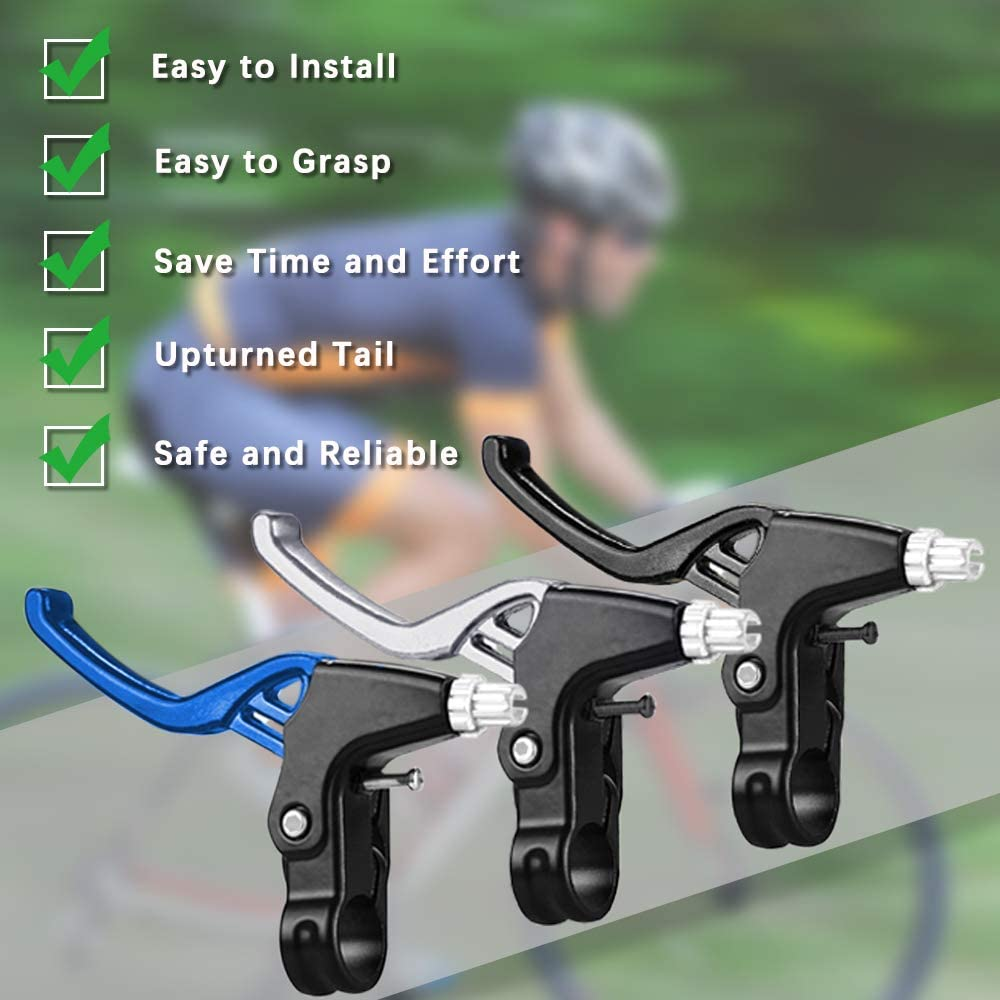 SITAKE/1/Pair/Bike/Brake/Levers/Set,/with/2/Pcs/Aluminum Alloy Bicycle/Brake/Handle,/and/1Pc/Allen/Wrench/,/for/Mountain/Bike/Bicycle