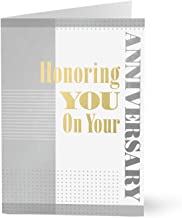 Hallmark Business Work Anniversary Card (Honoring Your Work Anniversary) (Pack of 25 Greeting Cards)