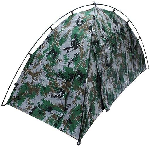 ZMJY Tentes de Camping, Compte Double Tente de Soldat Camouflage, résistant à l'eau et aux UV, Une Chambre à Coucher pour la randonnée en Plage