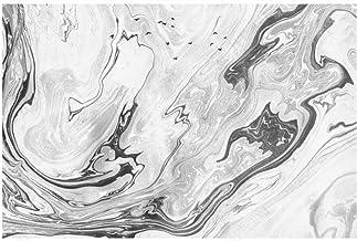 Papel Pintado Pared Papel Pared Textura De Mármol Gris Arte Geométrico Papel Pintado 3D Mural Pared Fotomurales Decorativo...