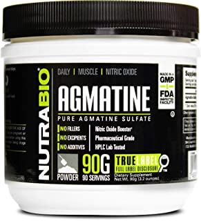 Amazon com: agmatine - Pre-Workout / Sports Nutrition