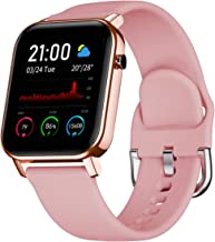 """Smart Watch for Android and iOS Phone with 1.4"""" Touch Screen, Activity Fitness Tracker Heart Rate Sleep Monitor,IP68 Water..."""