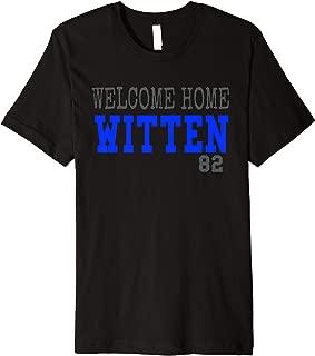 Jason Back Welcome Home Witten Cowboys t-shirt