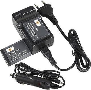 DSTE 2-Pack Ersatz Batterie und DC153E Viaje Cargador kit para Canon LP-E17 EOS M3 750D 760D Rebel T6i T6s SLR s