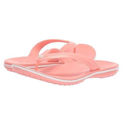Crocs Crocband Flip (Melon/White) Shoes