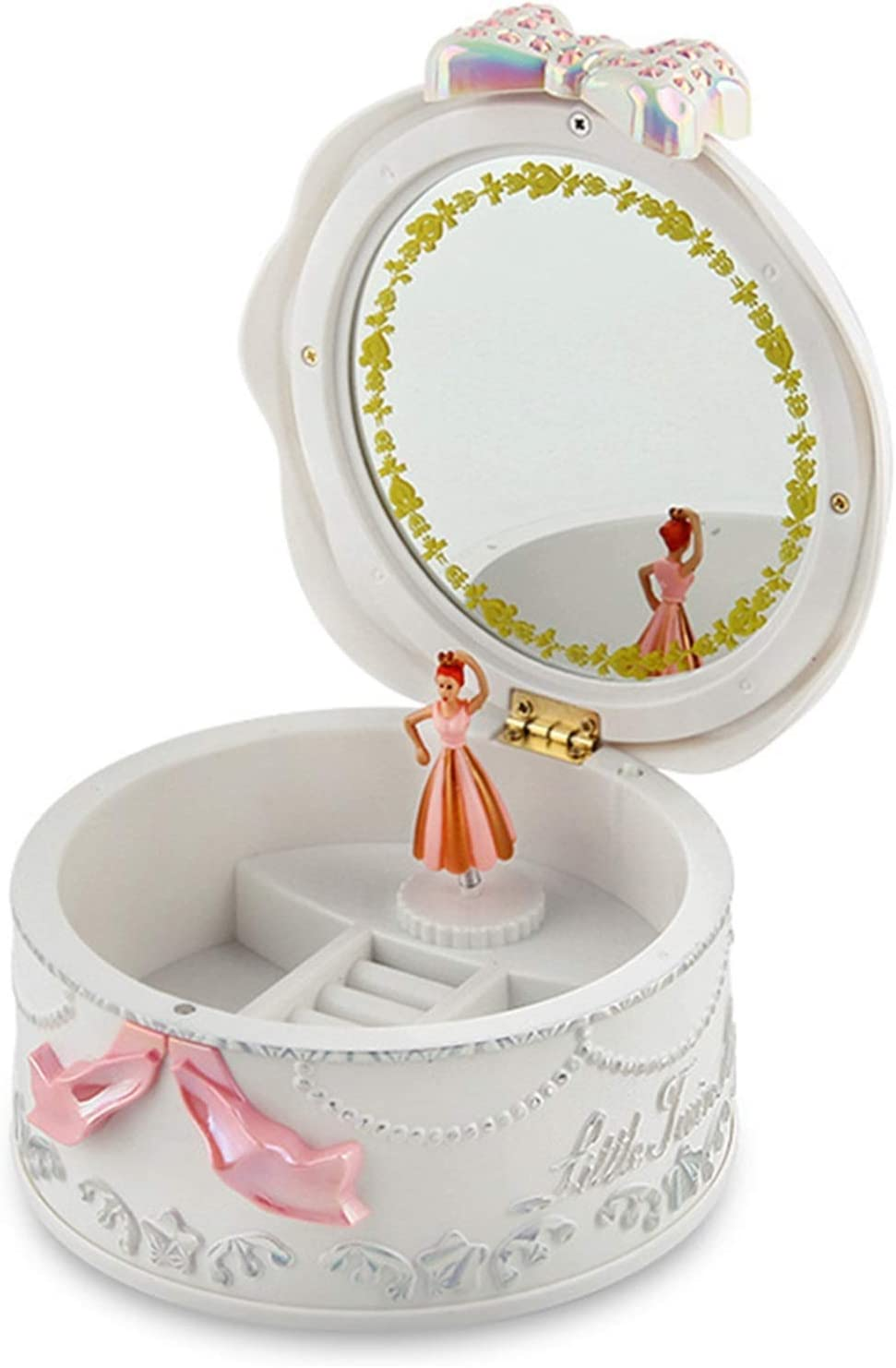Ranking TOP18 Bewitched ZHANGHANG New Orleans Mall Girls Musical Rotati Boxes Jewelry Ballerina